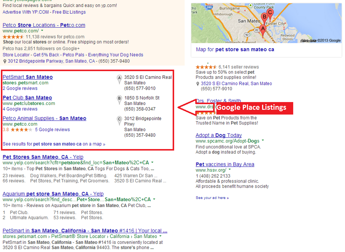 how to take an old business address of google