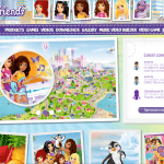 lego friends website